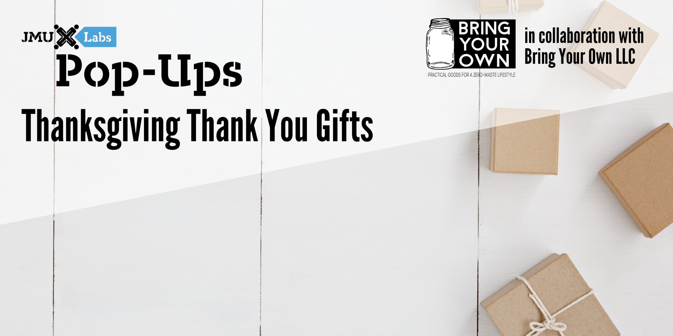 Pop-Up Workshop: Thanksgiving Thank You Gifts with Bring Your Own LLC
