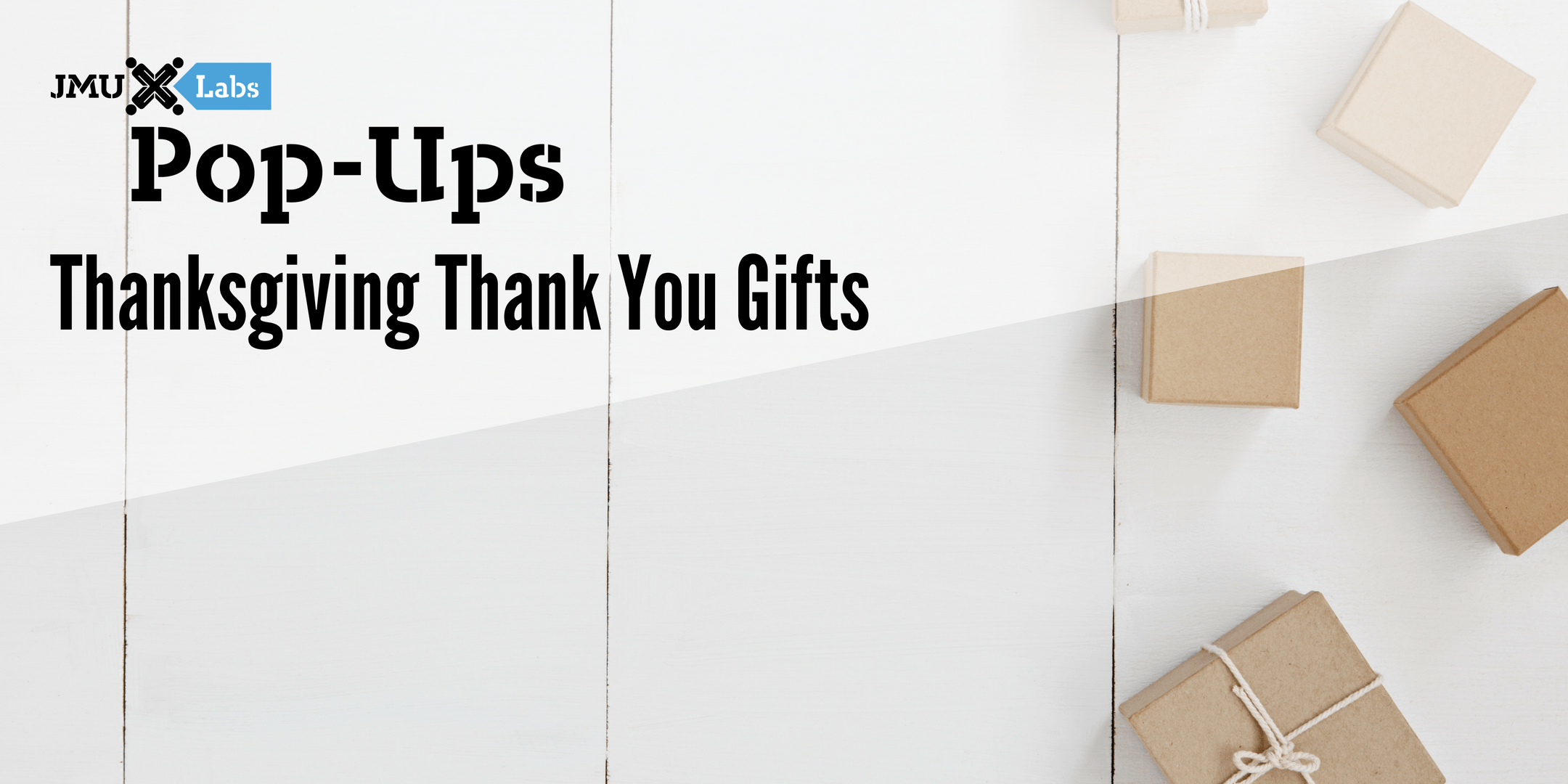 Pop-Up Workshop: Thanksgiving Thank You Gifts