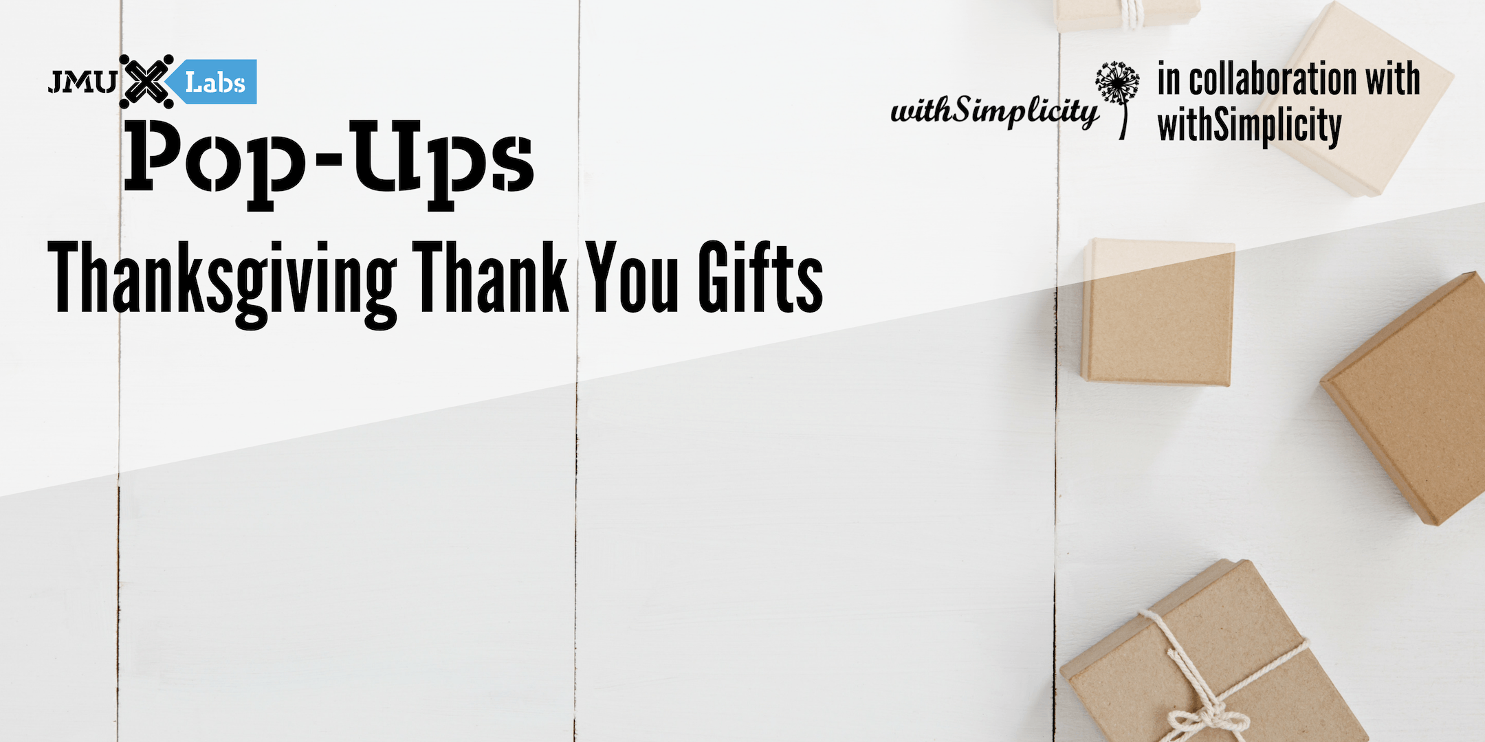 Pop-Up Workshop: Thanksgiving Thank You Gifts featuring withSimplicity